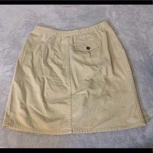 Christopher & Banks Skirts - Christopher & Banks Khaki Button Up Skirt EUC